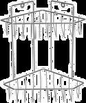 Rosenberg Этажерка RUS-385066-2
