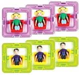Magformers 3 мальчика и 3 девочки