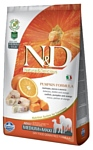Farmina (12 кг) N&D Grain-Free Canine Pumpkin Codfish & Orange Adult Medium & Maxi