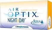 Ciba Vision Air Optix Night & Day Aqua -8 дптр 8.6 mm