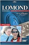 Lomond суперглянцевая односторонняя A3 280 г/кв.м. 20 листов (1104102)