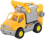 Полесье КонсТрак автомобиль коммунальный (оранжевый) 0414