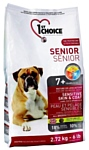 1st Choice (2.72 кг) Sensitive skin and coat ALL BREEDS for SENIORS
