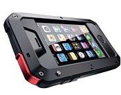 Lunatik Taktik Extreme Black/Red for iPhone 4/4S