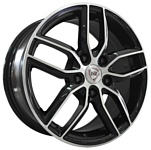 NZ Wheels SH656 6.5x16/5x105 D56.6 ET39 BKF