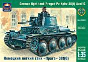 ARK models AK 35003 Немецкий лёгкий танк «Прага» Pz.Kpfw.38(t) Ausf.G
