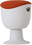 Chair Meister Tulip (белый пластик, оранжевый)
