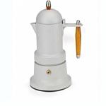 G.A.T. Кофеварка гейзерная MINNI PLUS белая 3 чашки 109603
