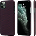 Pitaka MagEZ для iPhone 11 Pro Max (plain, черный/красный)