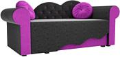 Mebelico Тедди-2 170x70 60509 (черный/фиолетовый)
