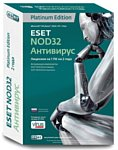 NOD32 Антивирус Platinum Edition (1 ПК, 2 года)
