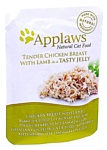 Applaws Cat Pouch Tender Chicken Breast with Lamb in a tasty jelly (0.07 кг) 16 шт.