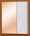 Акваль Шкаф с зеркалом Санта 55 (САНТА.04.55.00.N)