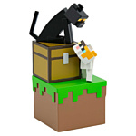 Minecraft Series 3 Adventure Figures: Cats with Chest 08451
