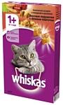 Whiskas Вкусные подушечки с нежным паштетом. Аппетитное ассорти с говядиной и кроликом для взрослых кошек (0.35 кг)