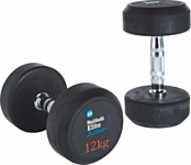 Men's Health Fixed Weight Dumbbell - 2 x 12kg