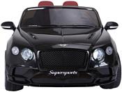 RiverToys Bentley Continental Supersports JE1155 (черный)