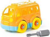 Полесье 78995 Автобус малый (оранжевый)