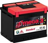 A-mega Standard 61 R низкая (61Ah)