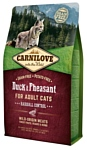 Carnilove Carnilove Duck & Pheasant for adult cats (2 кг)