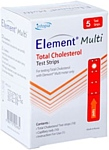 Infopia Element Multi Total Cholesterol 5 шт.