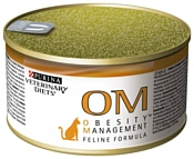 Pro Plan Veterinary Diets Feline OM Obesity (Overweight) Management canned (0.195 кг) 3 шт.