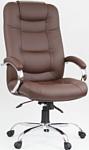 OfficeMarket Авиатор хром (экокожа, коричневый)