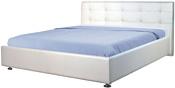 МебельПарк Софи 200x140 (с подъемным механизмом, белый)
