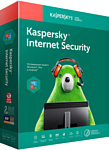 Kaspersky Internet Security (1 год, 3 устройства, BOX)