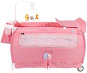 Lorelli Sleep'n'Dream 2 Layers Plus 2020 Pink Hippo