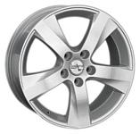 LegeArtis TY118 7x17/5x114.3 D60.1 ET39 Silver