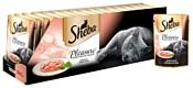 Sheba Pleasure ломтики в соусе с форелью и креветками (0.085 кг) 24 шт.
