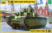 "Звезда Советский тяжелый танк ""Т-35"" 1:35"