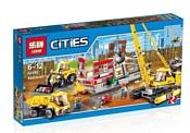 Lepin City 02042 Снос здания аналог LEGO 60076