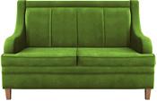 Brioli ЛуиП двухместный (микровелюр, В26 зеленый)