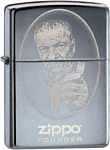 Zippo Founder 24197 High Polish Chrome