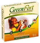GreenFort БиоОшейник от блох для мелких пород собак 35 см