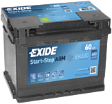 Exide Start-Stop AGM EK600 (60Ah)