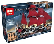 Lepin Pirates of the Caribbeans 16009 Месть королевы Анны аналог Lego 4195