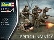 Revell 02519 Современная британская пехота