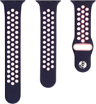 Evolution AW44-SP01 для Apple Watch 42/44 мм (midnight/pink)