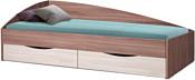 Олмеко Фея-3 190x80 (асимметричная, ясень шимо темный/шимо светлый)