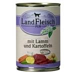 Dr. Alder (0.4 кг) 1 шт. ЛАНДФЛЯЙШ Деревенское мясо ягненок + картофель рубленое мясо Для взрослых собак
