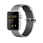Apple Watch Series 2 42mm Silver with Pearl Woven Nylon (MNPK2)