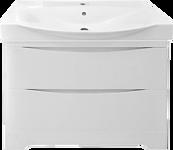 Misty Тумба под умывальник Элвис 85 (подвесная, 2 ящика, белый)