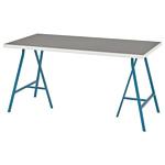Ikea Линнмон/Лерберг (светло-серый/синий) 293.310.14