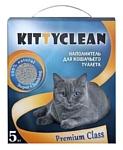 Kitty Clean Premium class комкующийся  5кг