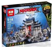 Lepin NinjaGo 06058 Храм Последнего великого оружия аналог Lego 70617
