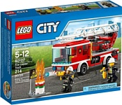 LEGO City 60107 Пожарная машина с лестницей