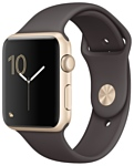 Apple Watch Series 2 42mm Gold with Cocoa Sport Band (MNPN2)